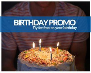SkyJet Birthday Promo