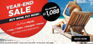 AirAsia Year-End Promo