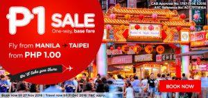 AirAsia Piso Fare Manila-Taipei