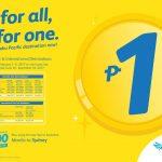 Cebu Pacific Peso Fare