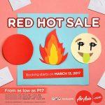 AirAsia Red Hot Sale 2017