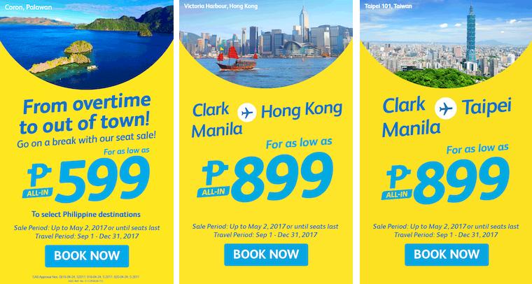 Cebu Pacific Air Piso Seat Sale