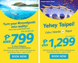 Cebu Pacific Air Seat Sale