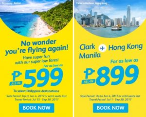 Cebu Pacific Air Seat Sale 599 Domestic