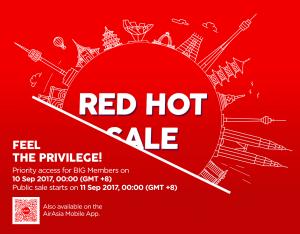 AirAsia Red Hot Sale