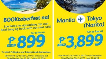 CEBU PACIFIC AIR: BOOK FOR AS LOW AS 899 ALL-IN!