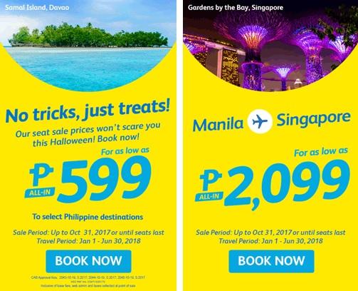 Cebu Pacific Air Trick or Treat