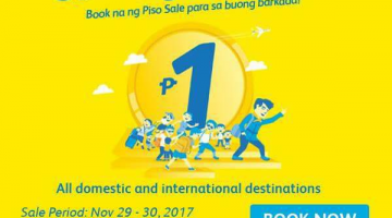 CEBU PACIFIC AIR: PISO SEAT SALE ALERT!