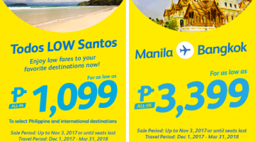 CEBU PACIFIC AIR: BOOK FOR AS LOW AS 1099 ALL-IN!