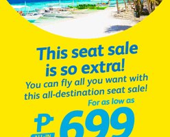 CEBU PACIFIC AIR: BOOK FOR AS LOW AS 699 ALL-IN!