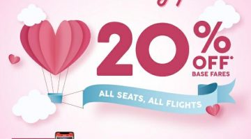 AIRASIA: GET 20% OFF ON ALL SEATS!