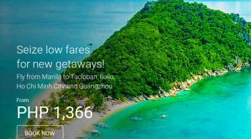 AIRASIA SEAT SALE PROMO: BOOK FOR AS LOW AS 1366 ALL-IN FARE!