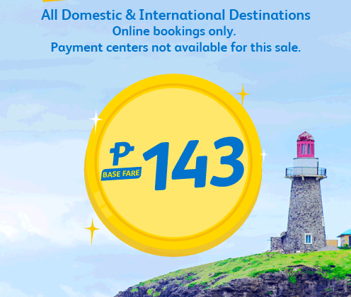 CEBU PACIFIC AIR: BOOK FLIGHTS FOR AS LOW AS 143!