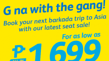 CEBU PACIFIC AIR: BOOK FOR AS LOW AS 1299 ALL-IN!