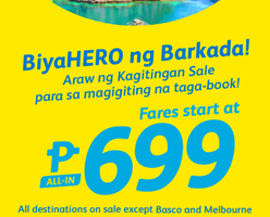 CEBU PACIFIC AIR: BOOK FLIGHTS FOR AS LOW AS 699 ALL-IN!
