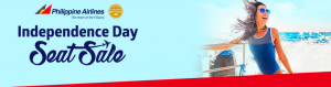 Philippine Airlines Independence Seat Sale