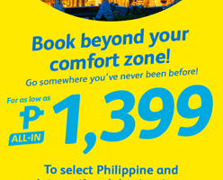 CEBU PACIFIC AIR: BOOK FLIGHTS FOR AS LOW AS 1399 ALL-IN!