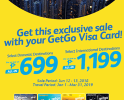 CEBU PACIFIC AIR: BOOK FLIGHTS FOR 699 ALL-IN