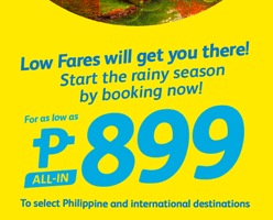 CEBU PACIFIC AIR: BOOK FLIGHTS FOR AS LOW AS 899 ALL-IN!
