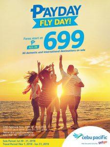 Cebu Pacific Air PayDay FlyDay