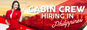 AirAsia Cabin Crew Hiring