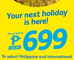 CEBU PACIFIC AIR: FLIGHTS FOR AS LOW AS 699 ALL-IN