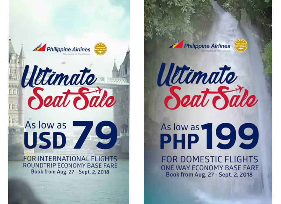 Philippine Airlines Ultimate Seat Sale
