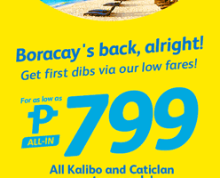 CEBU PACIFIC AIR: FLIGHTS FOR AS LOW AS 799 ALL-IN!