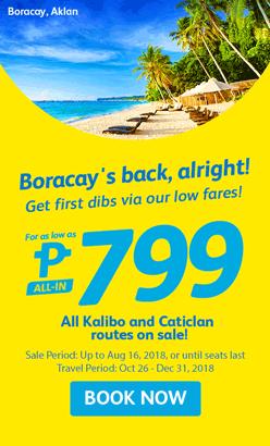 Cebu Pacific Air Boracay