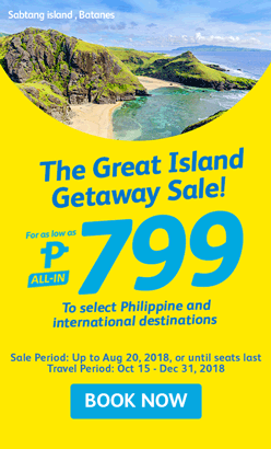 CEBU PACIFIC AIR: FLIGHTS FOR AS LOW AS 799 ALL-IN