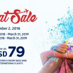 PHILIPPINE AIRLINES: ULTIMATE SEAT SALE FOR AS LOW AS 199