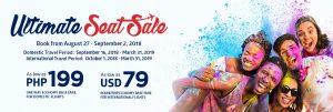 Philippine Airlines Ultimate SeatSale