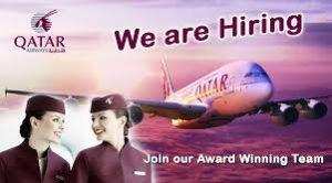 Qatar Airways Cabin Crew Hiring