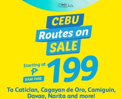 CEBU PACIFIC AIR: FLIGHTS FOR AS LOW AS 199 ALL-IN