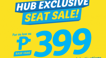 CEBU PACIFIC AIR: FLIGHTS FOR AS LOW AS 399 ALL-IN