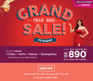 AirAsia Grand Year-End Sale