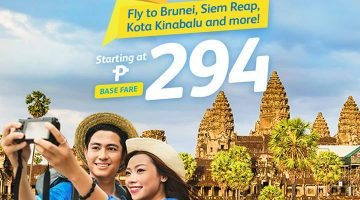 CEBU PACIFIC AIR FLASH SALE: FLIGHTS FOR AS LOW AS 294 ALL-IN