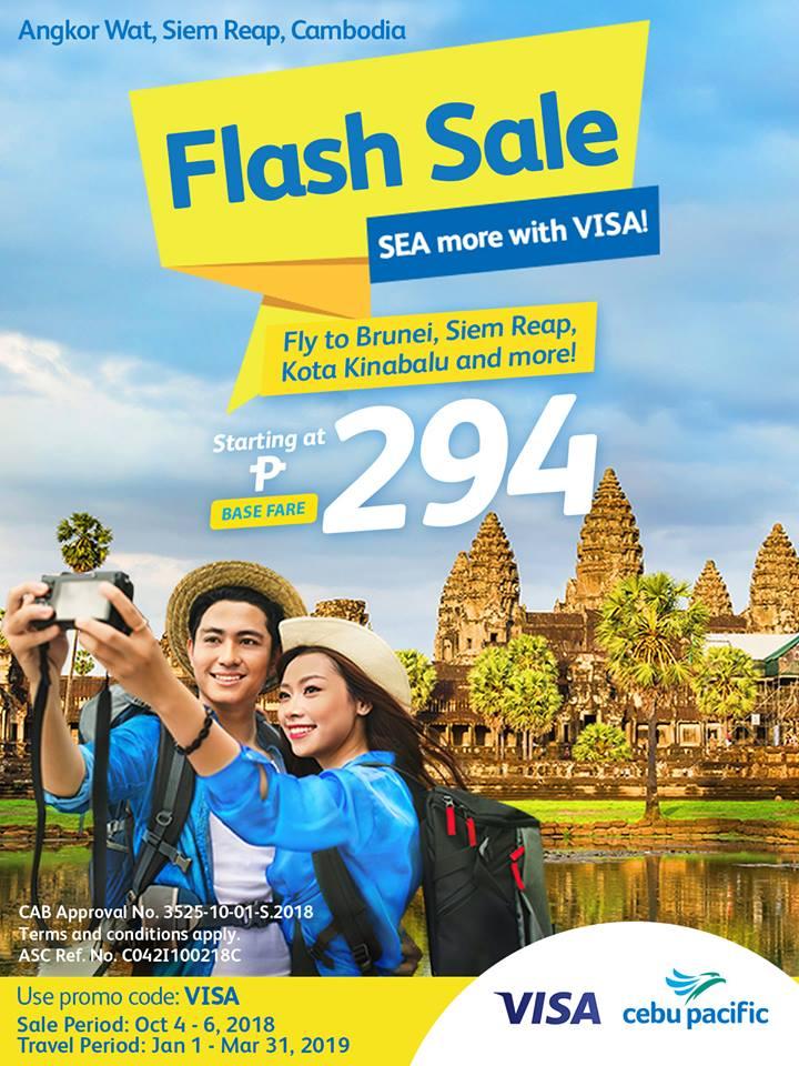 Cebu Pacific Air Flash Sale