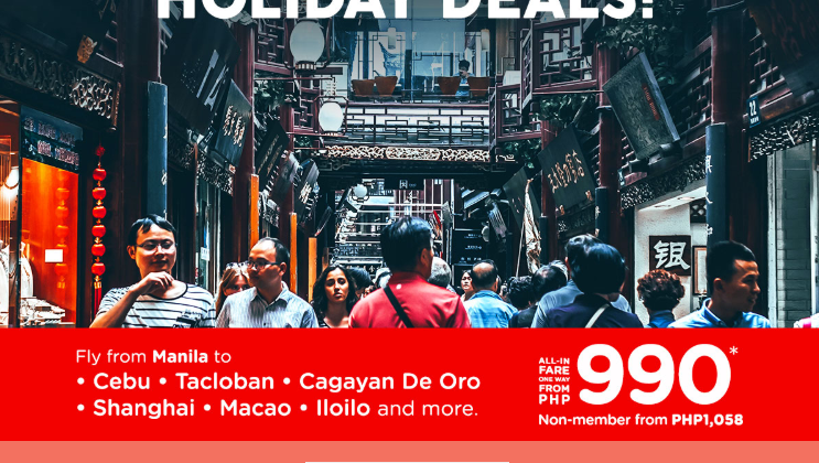 AIRASIA: FLIGHTS FOR AS LOW AS 990 ALL-IN