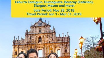 CEBU PACIFIC AIR: 99 BASE FARE ON ALL FLIGHTS FOR 1DAY SNAP SALE!