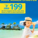 CEBU PACIFIC AIR: FLIGHTS FOR AS LOW AS 199 BASE FARE!