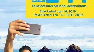 CEBU PACIFIC SNAP SALE DAY – FOR AS LOW AS 244 BASE FARE!