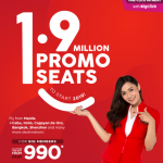 AIRASIA: FLIGHTS FOR AS LOW AS 990 ALL-IN!