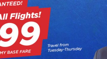 PHILIPPINE AIRLINES NEW YEAR SALE – FLIGHTS FOR AS LOW AS 999 BASE FARE!