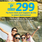 CEBU PACIFIC AIR: FLIGHTS FOR AS LOW AS 299 BASE FARE!