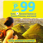 CEBU PACIFIC AIR: ONE DAY SNAP SALE FOR AS LOW AS 99 BASE FARE!