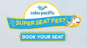 CEBU PACIFIC 23rd Anniversary marks its biggest SEAT SALE!