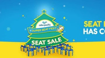 Cebu Pacific Super Seat Fest